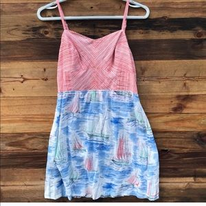 Anthropologie | Eloise Sailboat Dress size Small